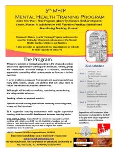 MHTP 2015 flyer