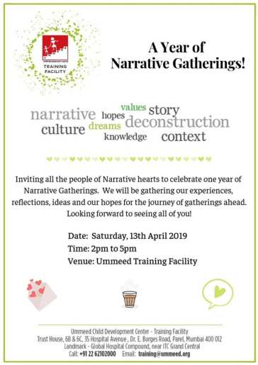 Narrative Gathering April 2019 English