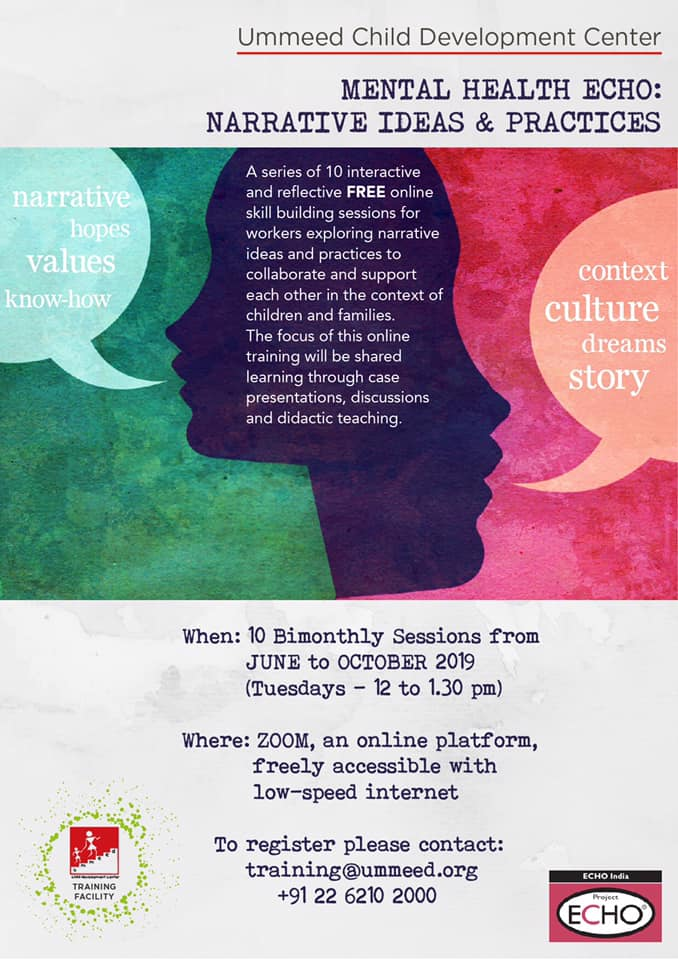 MH Echo - Narrative Ideas and Practices Flyer